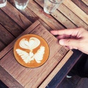贈り物のコーヒー