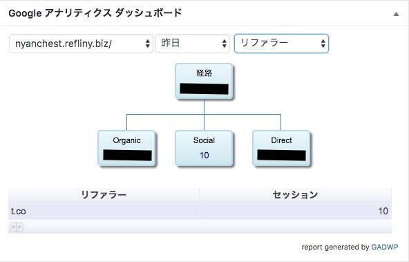 Google Analytics Dashboard for WP 13